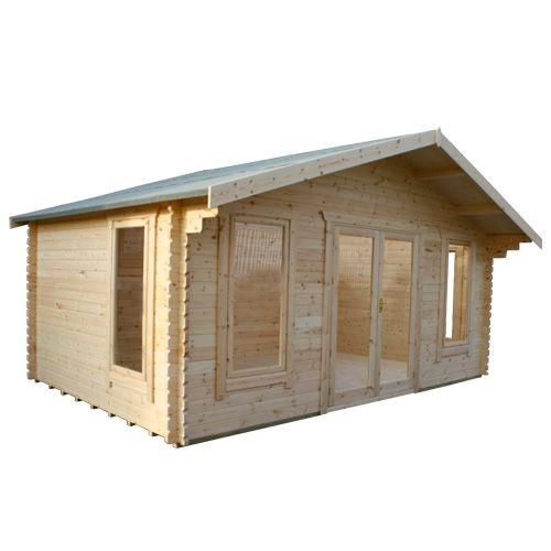 10ft x16ft Wide Sutton Log Cabin