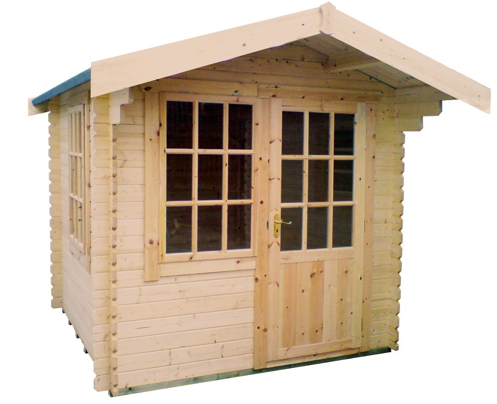 8ft x 12ft Wide Carrington Log Cabin