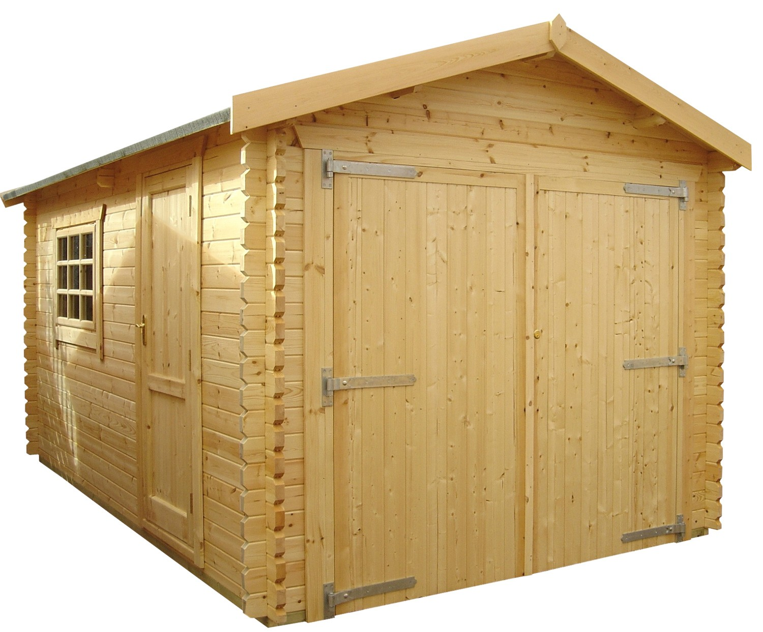 20ft x 12ft wide warwick garage warwick garage for Log cabin garages for sale
