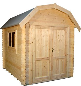 14ft x 8ft Wide Aldford Log Cabin
