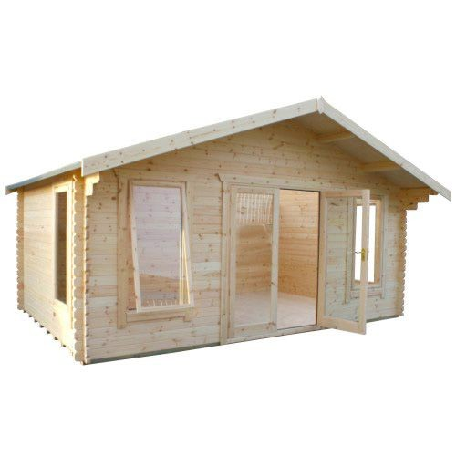 10ft x18ft Wide Sutton Log Cabin