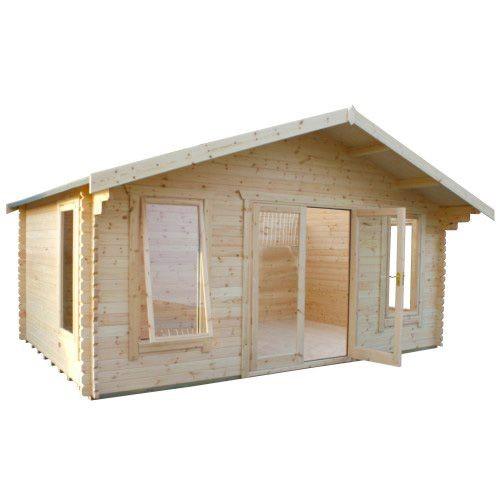 14ft x18ft Wide Sutton Log Cabin