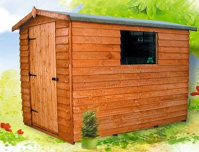 10ft x 8ft Wide  Cottage