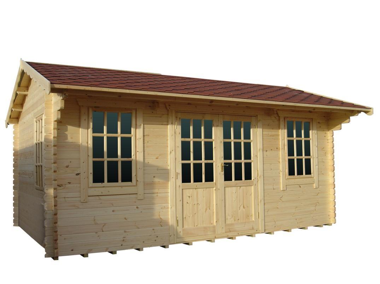 14ft x 14ft Wide Dalton Log Cabin