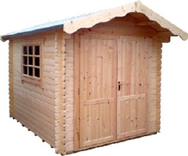 14ft x 14ft Wide Malborough Log Cabin