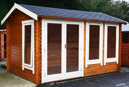 14ft x 10ft Wide Sherbourne Log Cabin