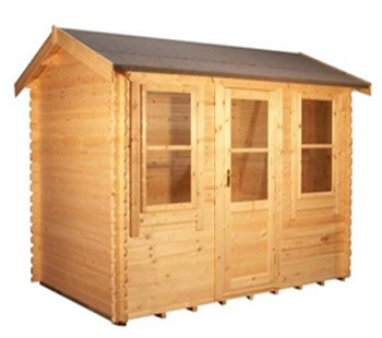 12ft x12ft  Wide Skipton Log Cabin