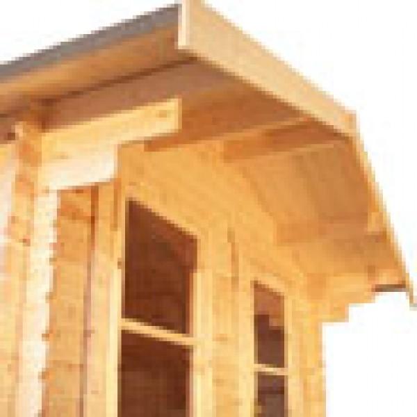 12ft X 8ft Wide Carrington Log Cabin Carrington