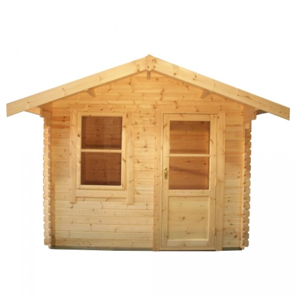 12ft X 8ft Wide Carrington Log Cabin Carrington