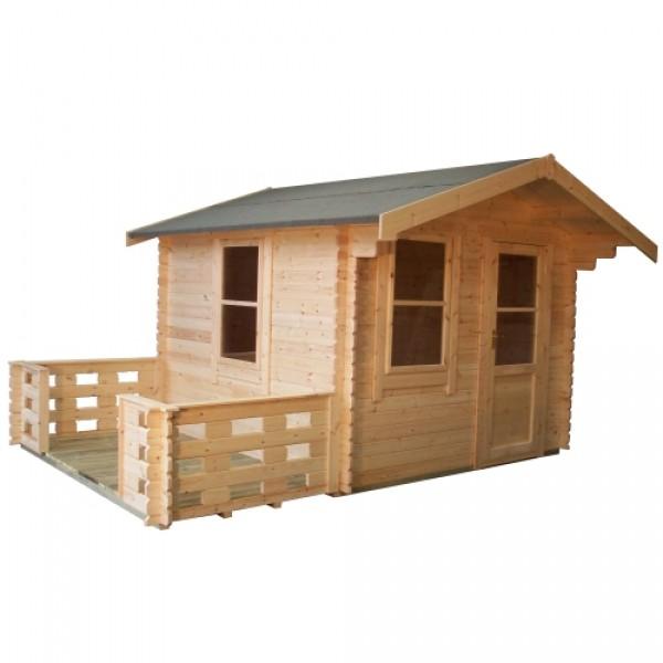 10ft X 8ft Wide Carrington Log Cabin Carrington