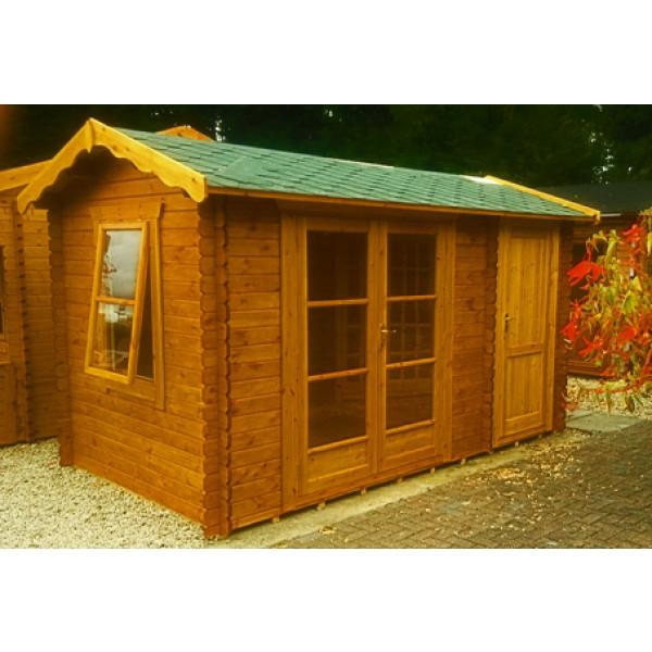 12ft X 10ft Oxford Log Cabin