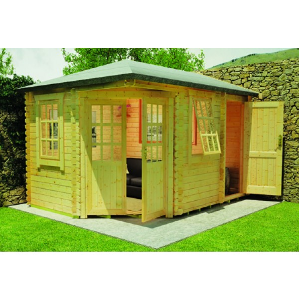 Victoria log cabin for Log cabins victoria